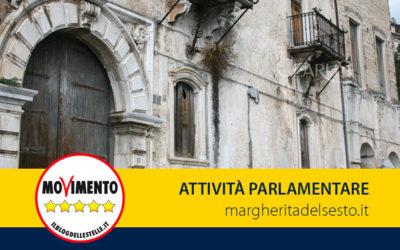 Palazzo Ducale di Piedimonte Matese (CE): interrogazione al Ministro per i Beni e le Attività Culturali