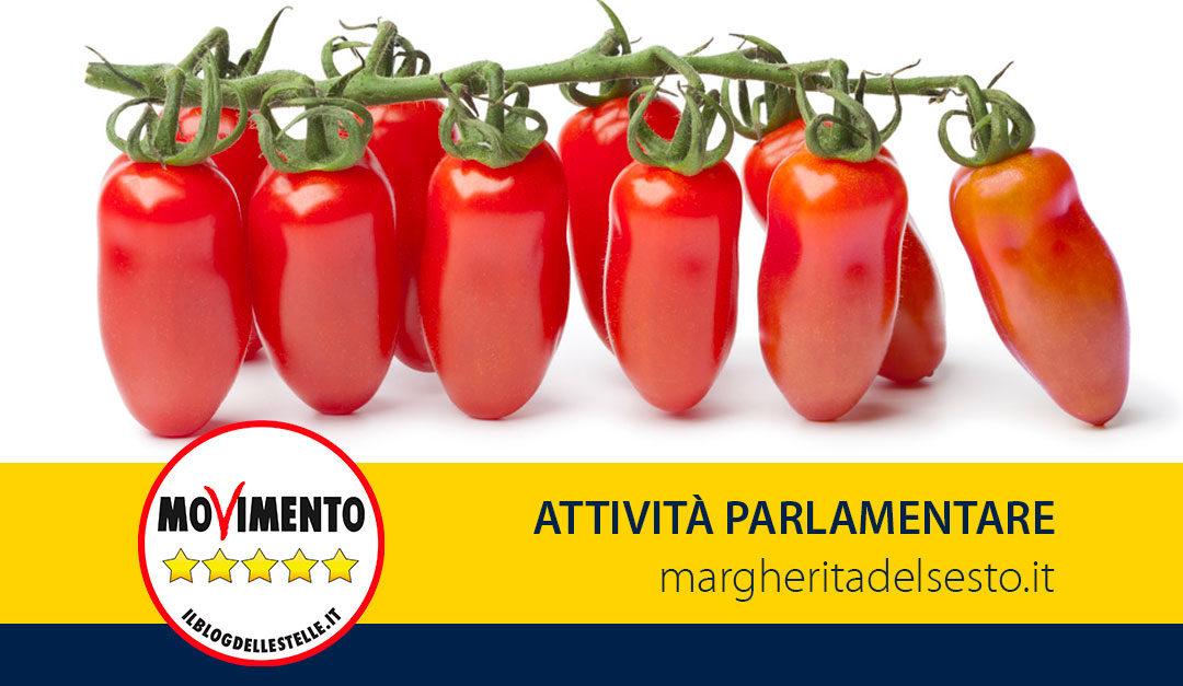 Proposta di Legge Pomodoro San Marzano