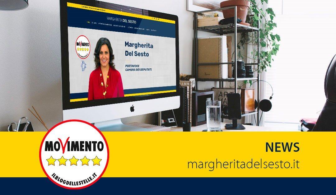 Restyling sito Margherita Del Sesto