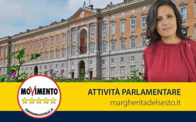 Reggia di Caserta. Interrogazione parlamentare