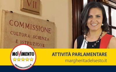 Relatrice proposta di legge su violenze e discriminazioni