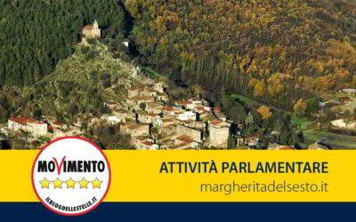 """Bando """"Borghi e Centri storici"""". Interrogazione parlamentare"""