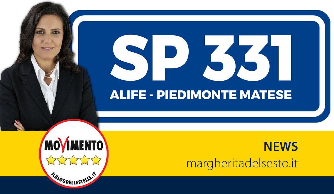 SP 331 Alife-Piedimonte Matese. Nota della Provincia di Caserta
