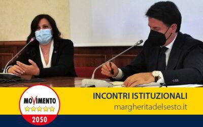 Incontro alla Camera con Giuseppe Conte